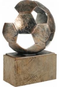 Trophäe Fussball (E-T-BEL372)