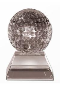Trophäe Golf Kristallglas (M-7557)