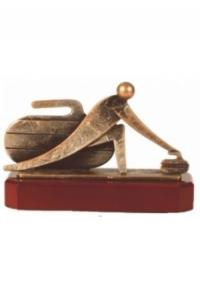 Trophäe Curling ET-BEL271-C