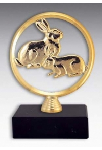 Trophäe Hase / Kaninchen (E-N-MFR-013)